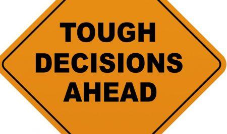 Great leaders make few decisions.